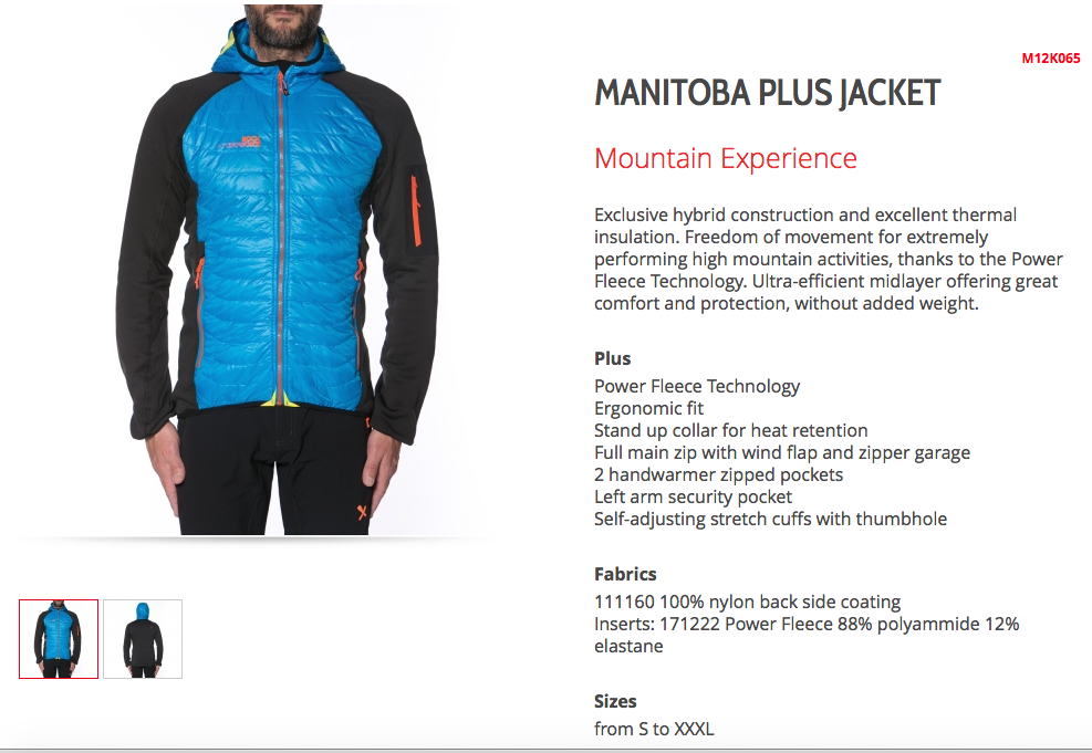 Manitoba Plus Men 49,90/119,90