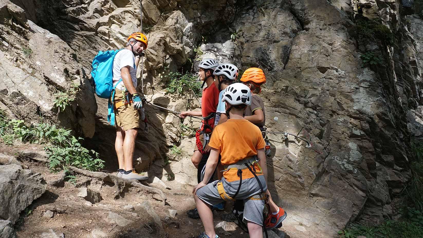 Klettersteigset Kinder : Klettersteig mit kinder und jugendlichen eine besondere herausforderung!