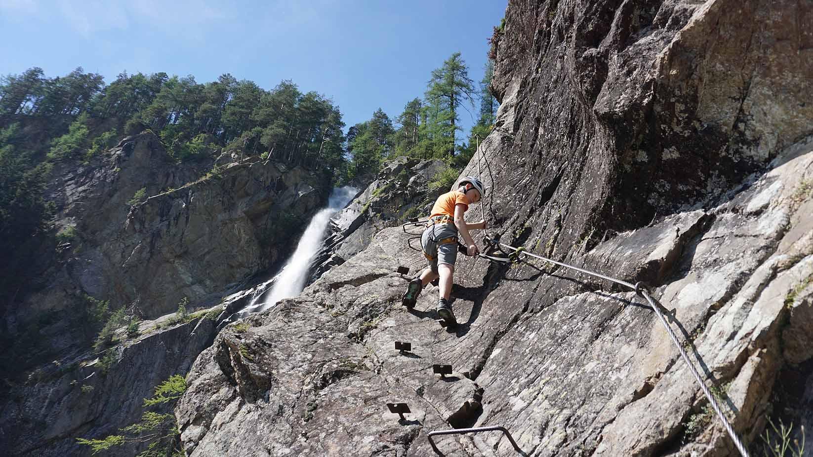 Klettersteigset Kinder 30 Kg : Klettersteig mit kinder und jugendlichen eine besondere