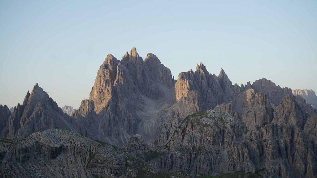 Italien Zinnen Cadinspitze