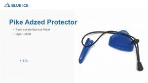 Der Spike & Adzed Protector von Blue Ice zum sicheren transportieren deiner Eisgeräte.