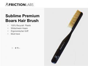 100% Recycelt Plastik Wildschwein Haare Ergonomischer Griff Must have